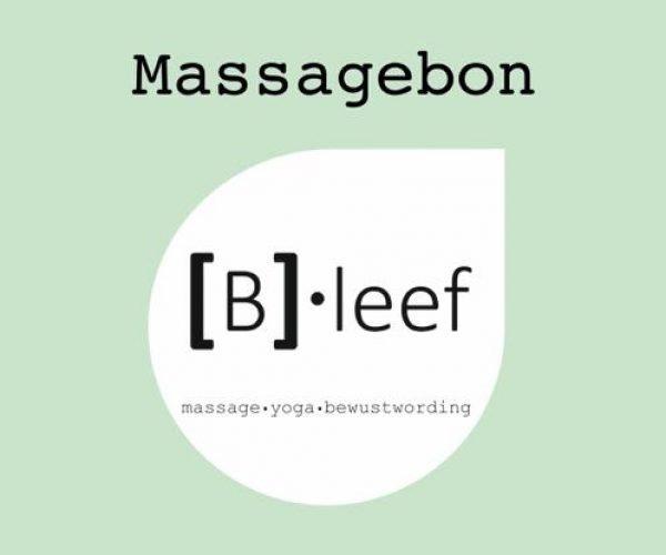 [B]•leef massagebon